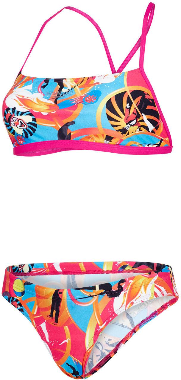 speedo Solar Pavola 2 Piece Bikini Damer farverig  e008ff7f82f78